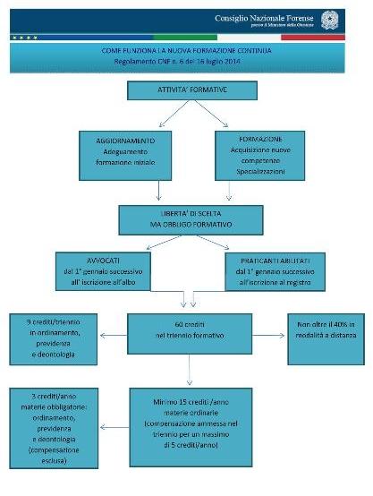 Diagramma di flusso della formazione forense